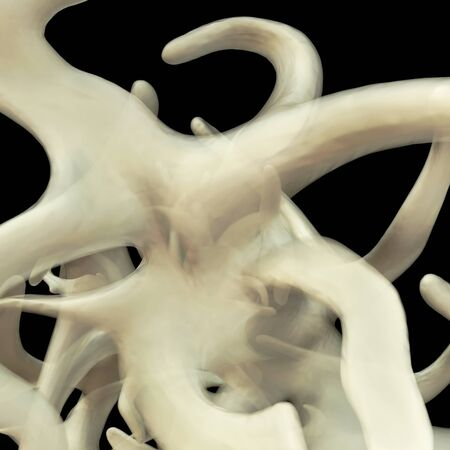 connective: Fascia - 3d rendered illustration
