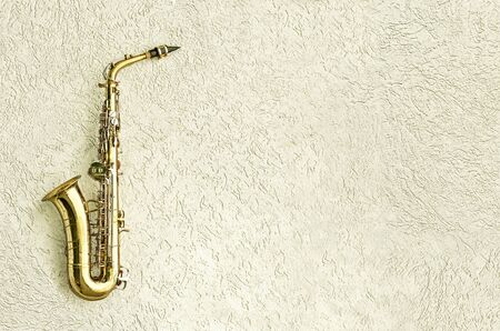 milonga: Saxophone Stock Photo