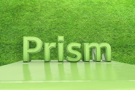 prisma: Prisma - 3d rindió la ilustración