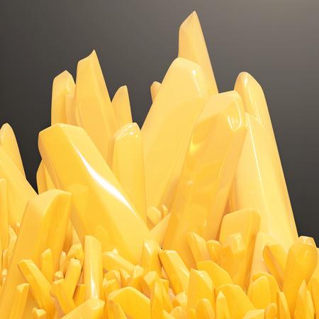 effervescent: Vitamin C - 3d rendered illustration Stock Photo