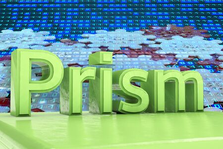 knowledgeable: Prism - 3d rendered illustration
