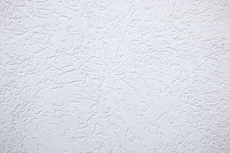 White fine plaster Texture Background - rough grooves Stock Photo