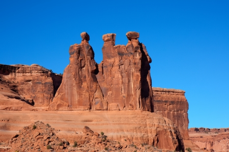 Arches National Park - The Watchers photo