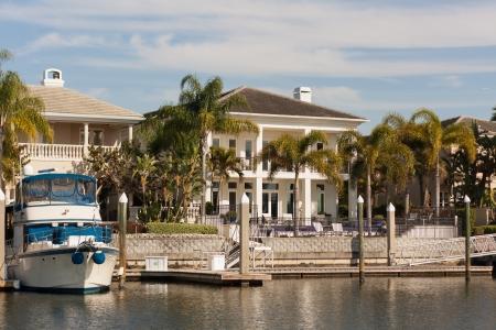 タンパ、フロリダ州で水にこの家は、誰もできない場合があります。