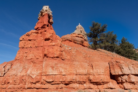 unyielding: This sculptured  formation at Red Canyon State Park in Utah is a result of the unyielding forces of nature.