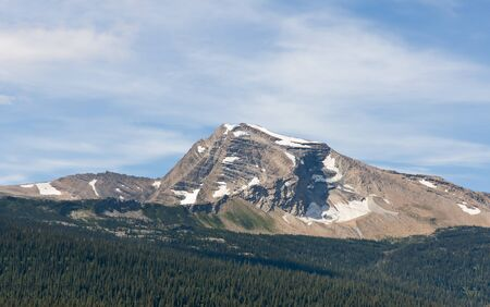 the throughout: This image shows some of the famous rugged views seen throughout Glacier National Park.