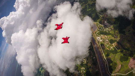 palau: Wingsuit Flying In Palau