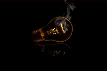 e27: Smoking bulb