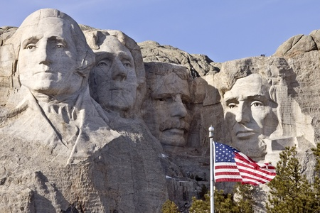 Mount Rushmore South Dakota Black Hills Editorial