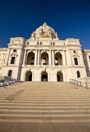 golden rule: Capitol Building St Paul Minnesota