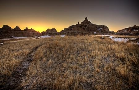 South Dakota Badlands photo