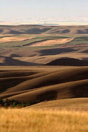 Big Muddy Valley of Saskatchewan Stock Photo - 8389175