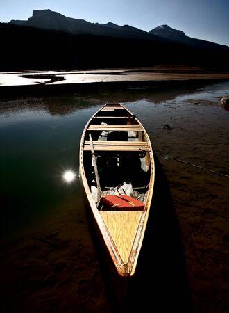 Medicine Lake in Jasper National Park Stock Photo - 8388910