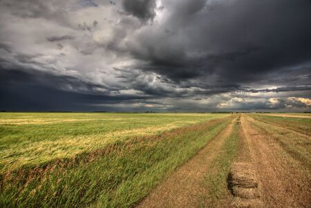 Storm clouds over Saskatchewan Stock Photo - 8393027