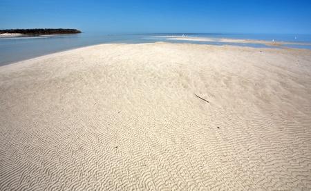 winnipeg: Sand flats along shore of Lake Winnipeg