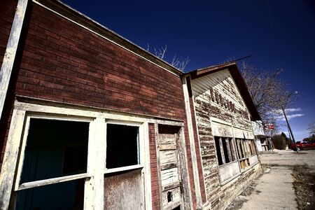 Old Coderre store in Saskatchewan Stock Photo - 8458936