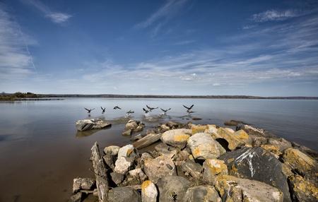lake front: Ashland Wisconson Lake Front Scenic Lake Superior Bay