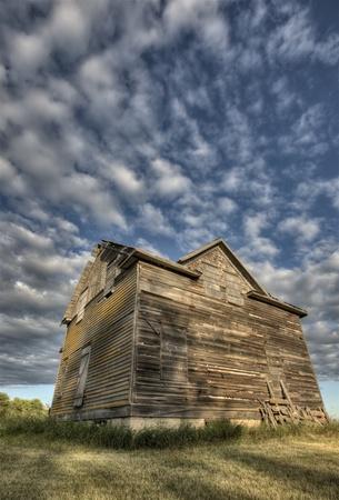 abandoned farmhouse abandoned farmhouse: Abandoned Farmhouse Saskatchewan Canada sunset and prairie view