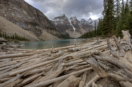 Morraine Lake Alberta Rocky Mountains Canada emerald color photo