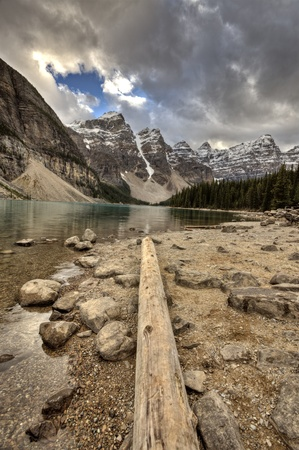 Morraine Lake Alberta Rocky Mountains Canada emerald color