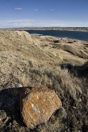 Sand Castles of Diefenbaker Lake Saskatchewan Badlands