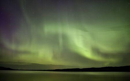 magnetosphere: Notte Tiro Northern Lights Saskatchewan Canada