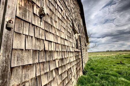Exter Abandoned House Prairie Saskatchewan Canada Stock Photo - 13850986