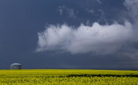 Prairie Storm Clouds ominous weather Saskatchewan Canada photo