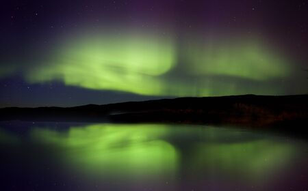 Aurora Borealis Northern Lights Saskatchewan Lake