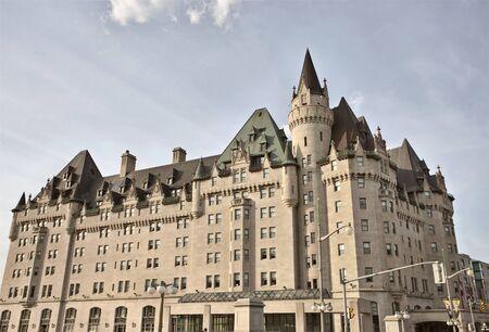 chateau: Chateau Laurier Hotel Ottawa Ontario Canada old Editorial