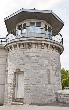 penitentiary: Kingston Penitentiary Ontario Canada abandoned stone Editorial