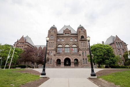wellesley: Ontarios Legislative Building Toronto Canada downton Wellesley Street