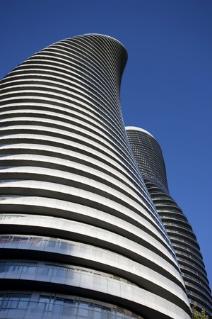 Absolute Towers Mississauga Toronto Marilyn Monroe buildings Editorial