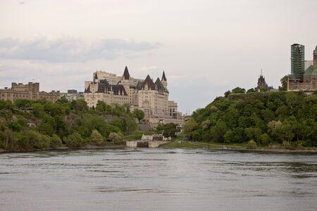 ottawa: Chateau Laurier Hotel Ottawa Ontario Canada old Editorial