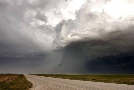 uğursuz: Storm Clouds Saskatchewan ominous skies and warnings