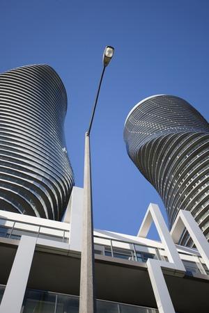 monroe: Absolute Towers Mississauga Toronto Marilyn Monroe buildings Editorial