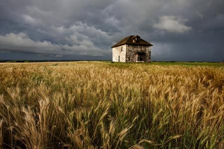 uğursuz: Fırtına Bulutları Prairie Sky Kanada uğursuz tehlike