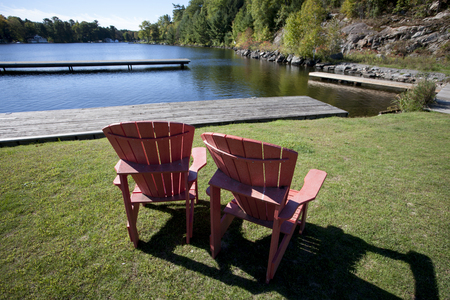 muskoka: Port Carling Muskoka Canada lake and docks