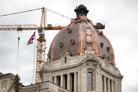 legislature: Regina Saskatchewan Legislature dome after repair copper