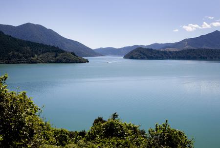 marlborough: View Marlborough New Zealand South Island Ocean