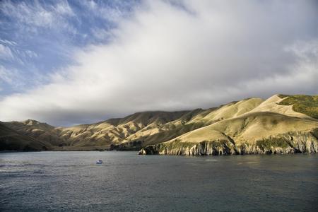 Ferry View Wellington New Zealand to South Island