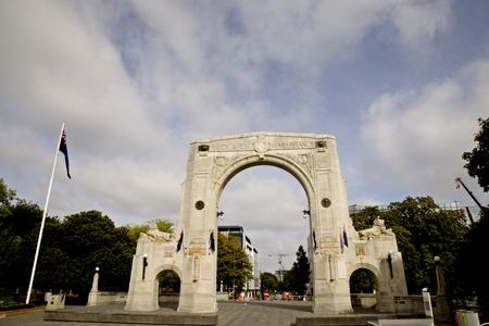 marlborough: Christchurch New Zealand Bridge of Remembrance Memorial
