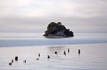marlborough: Cook Strait Collingwood New Zealand Ocean Island