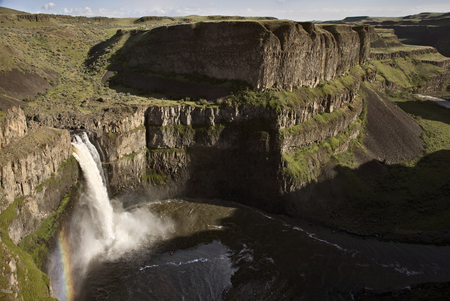 Palouse Falls Washington summer gorge scenic beautiful