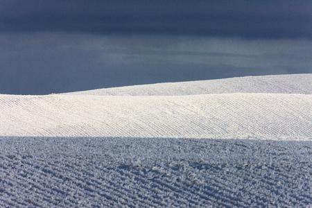 Winter Frost Saskatchewan Canada ice storm danger Reklamní fotografie