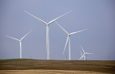 Prairie Wind Farm in Saskatchewan Canada Turbine