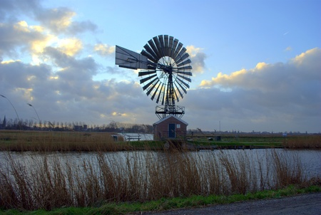 macht: American Windmill in Holland