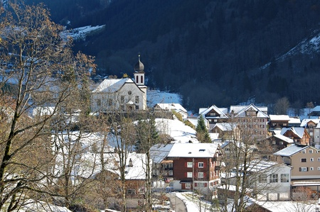 vacance: Winter village Editorial