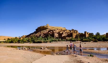 Filkulisse in Morocco at Ouarzazate