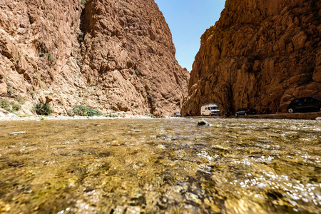 Riverbed in todgha valley